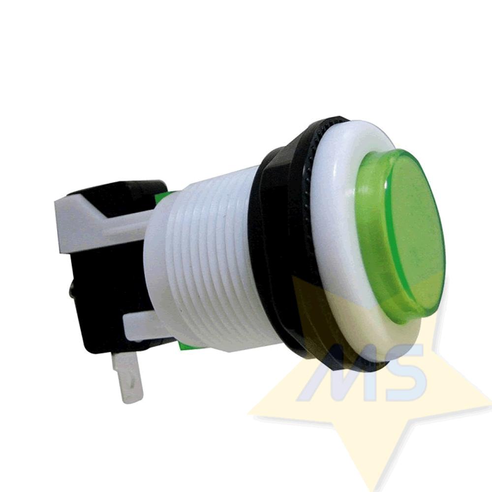Chave Botão Push Button PBS-29 Verde