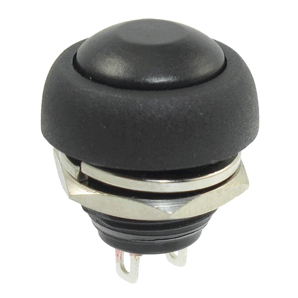 Chave Botão Push Button PBS-33B Preto