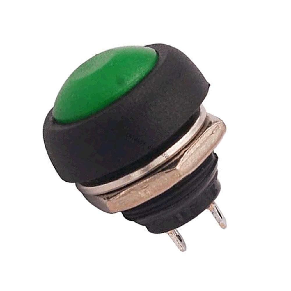 Chave Botão Push Button PBS-33B Verde