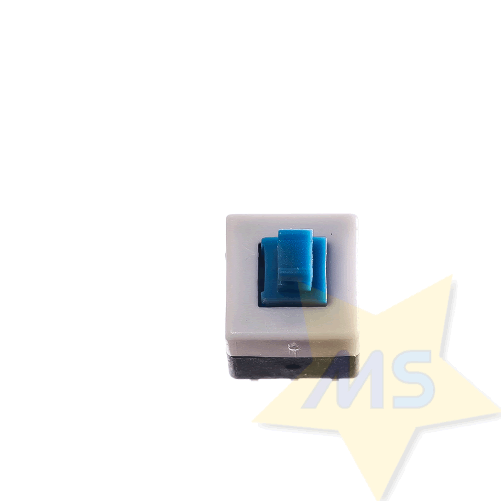 Chave Push Button C/ Trava - Liga/Desliga