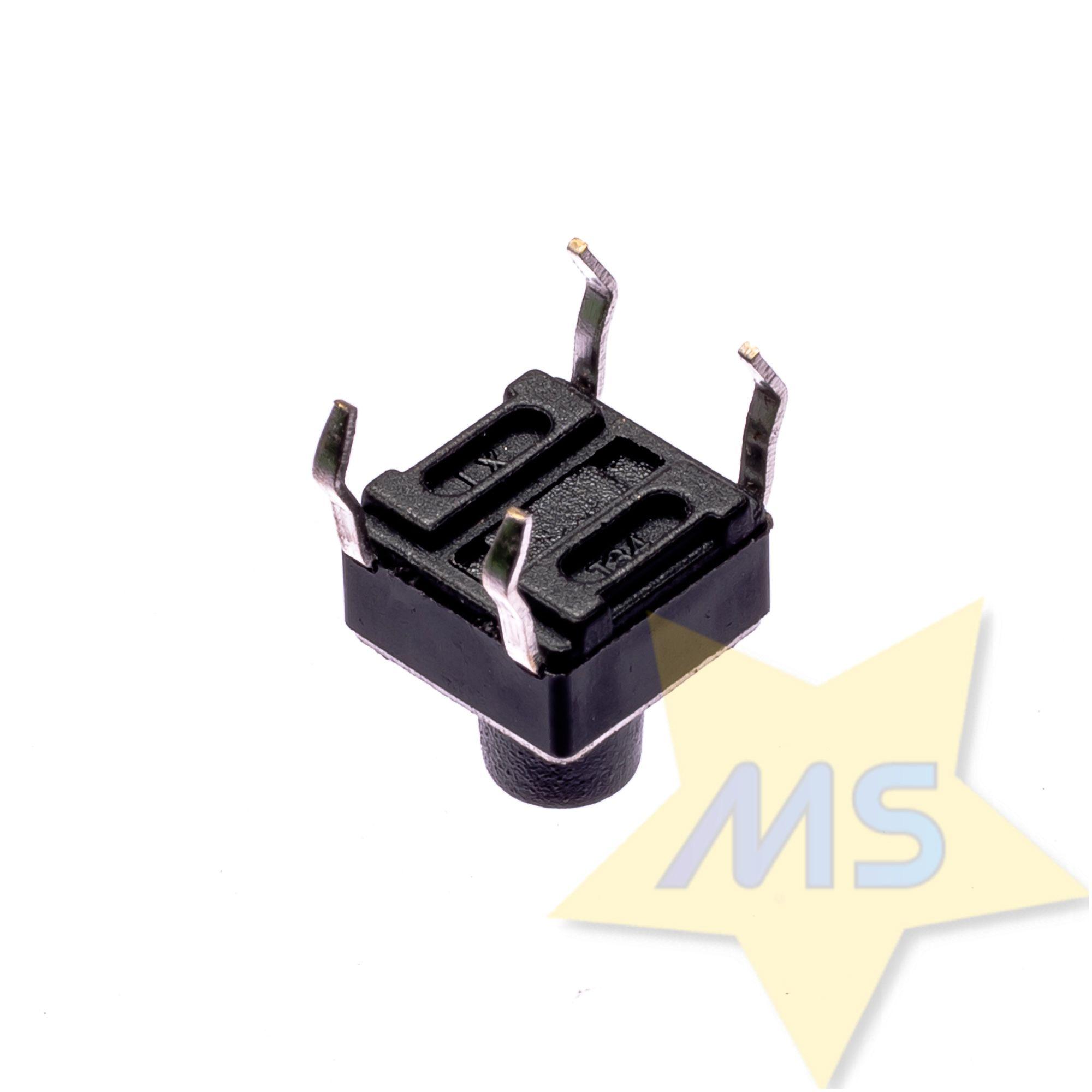 Chave Táctil Push Button 4 terminais ( 10pçs )