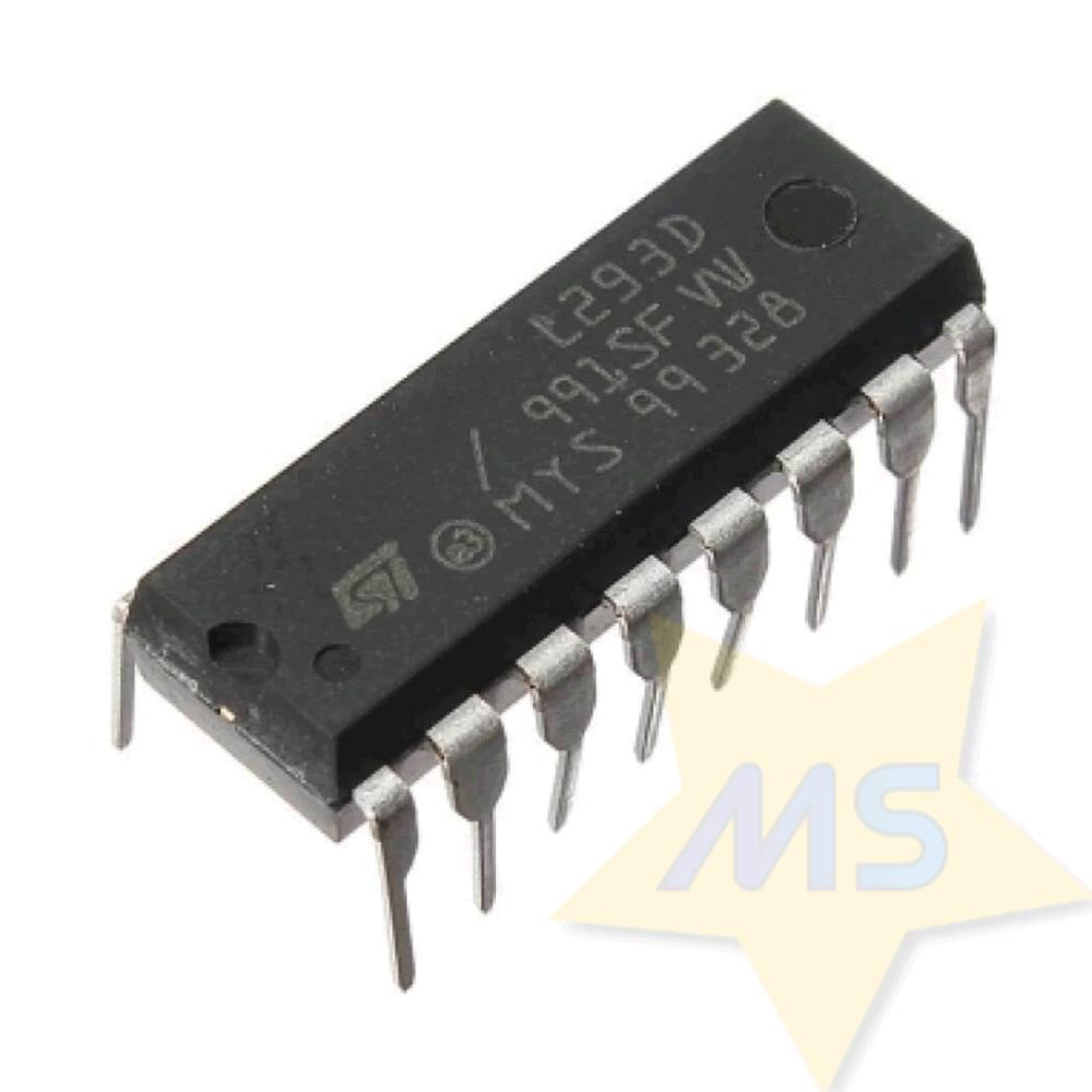 CI L293D - Ponte H dupla DIP