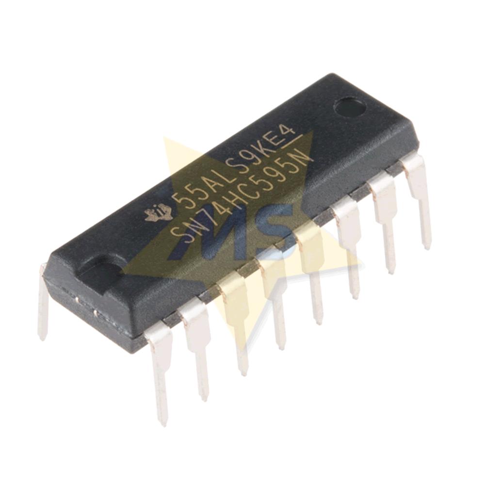 CI shift register SN74HC595N DIP