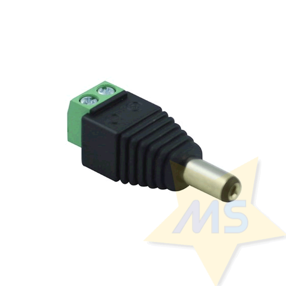 Conector adaptador Plug P4 com Borne