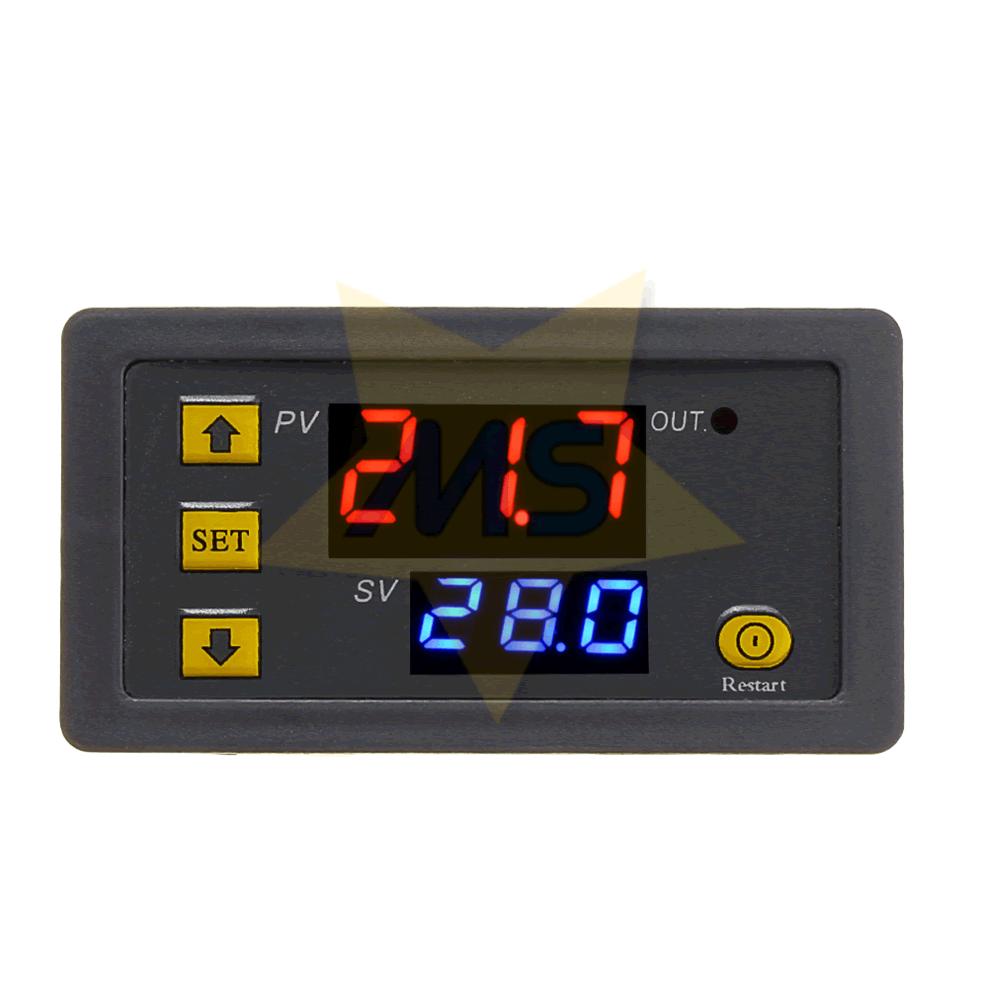 Controlador de Temperatura Digital W3230 12VDC