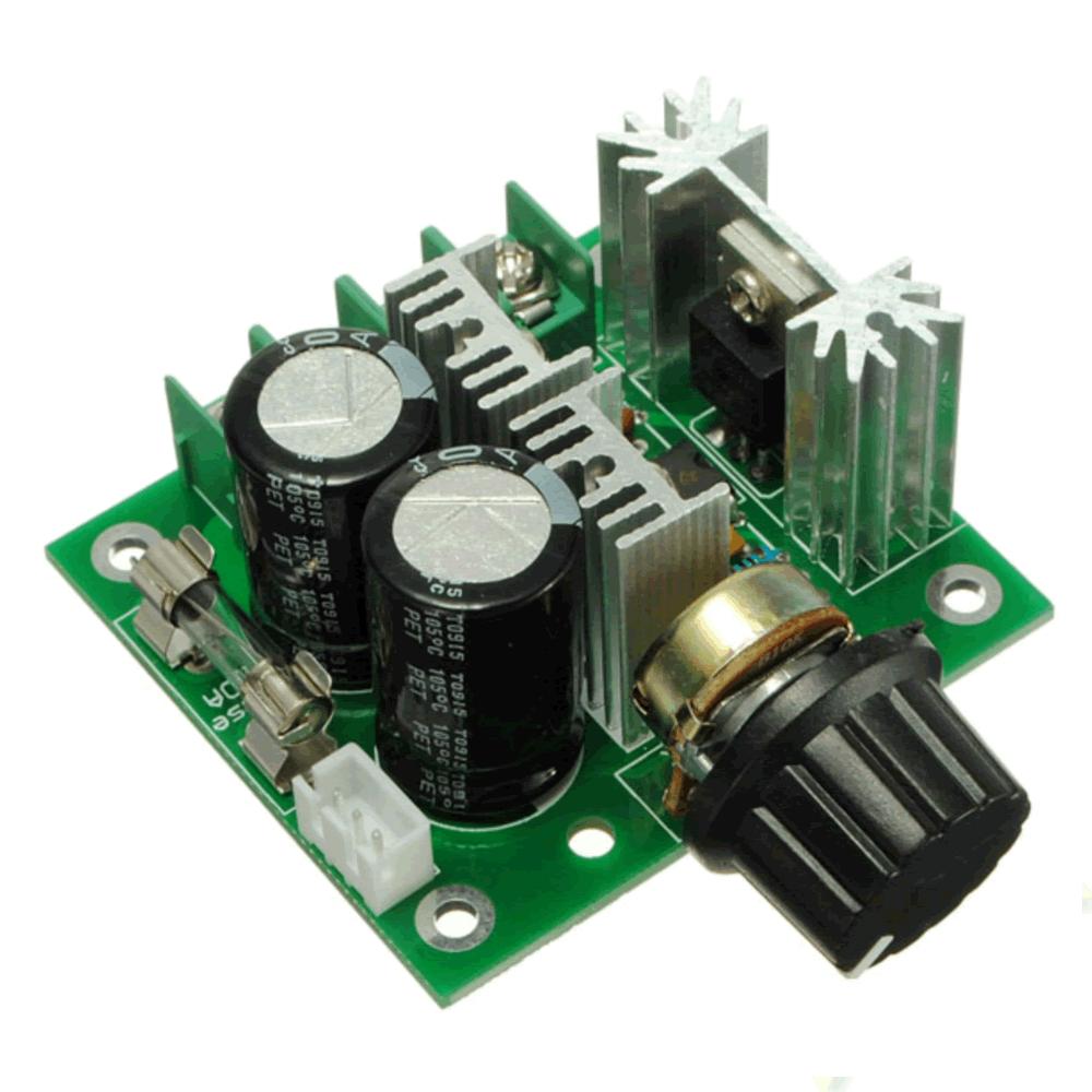 Controlador PWM para Velocidade de Motor 10A