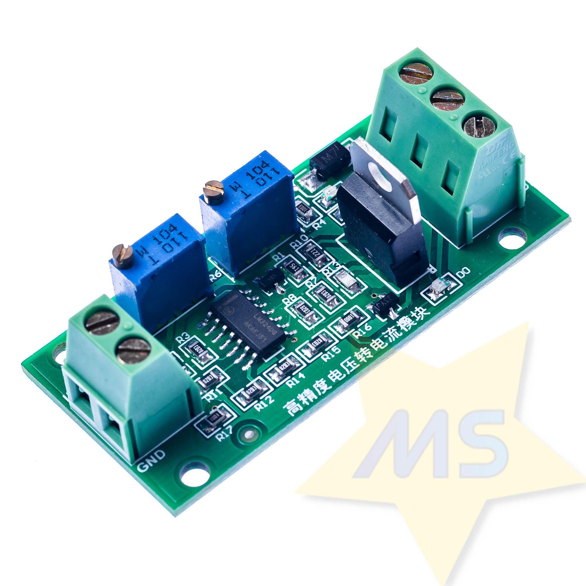 Conversor de tensão 0-10V para   4-20mA
