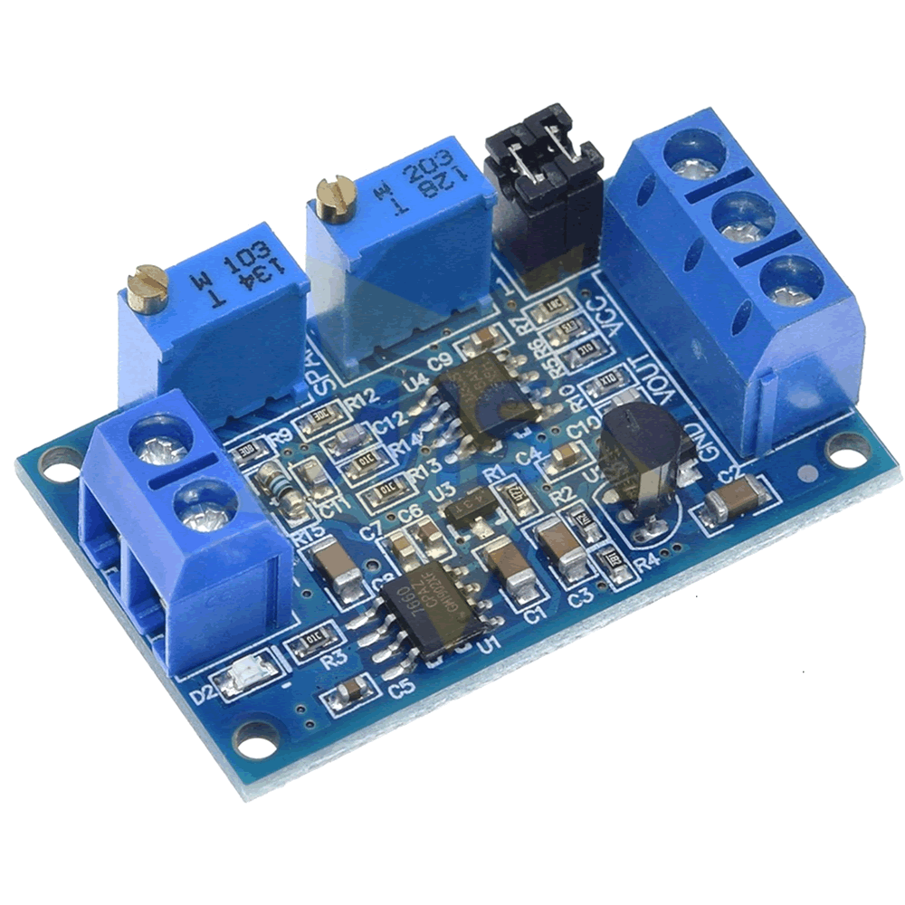 Conversor de Corrente 4-20 mA para Tensão 0-3.3V/5V/10V