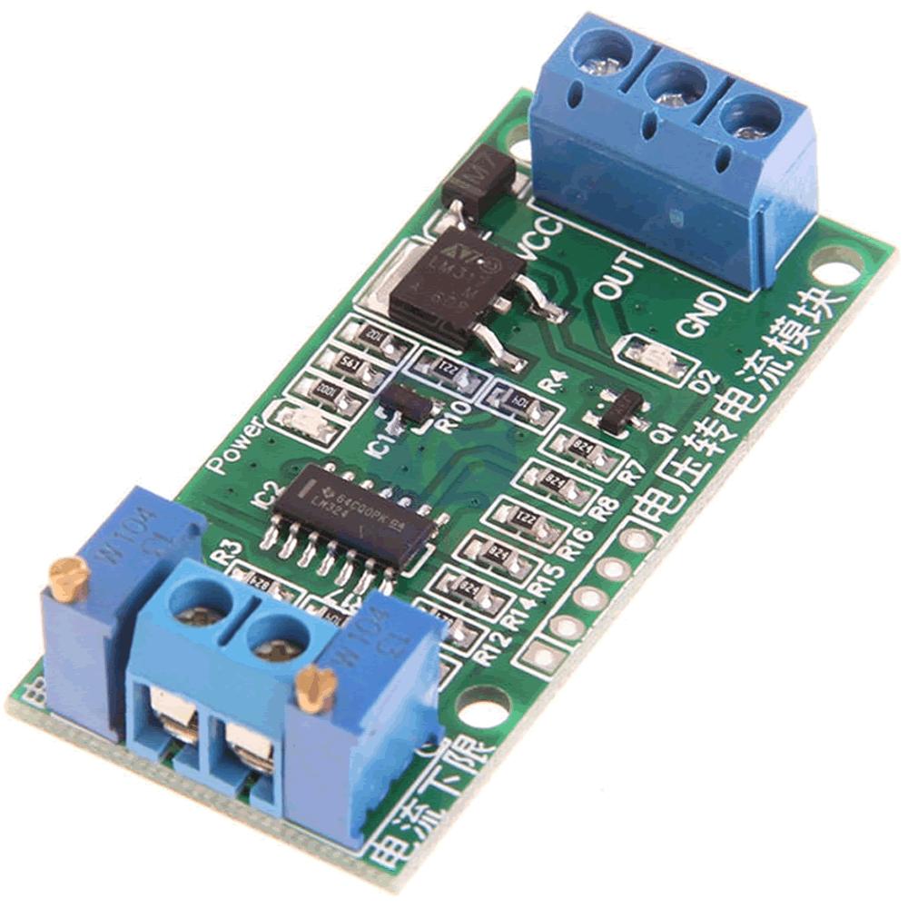 Conversor de tensão 0-3.3V para   4-20mA
