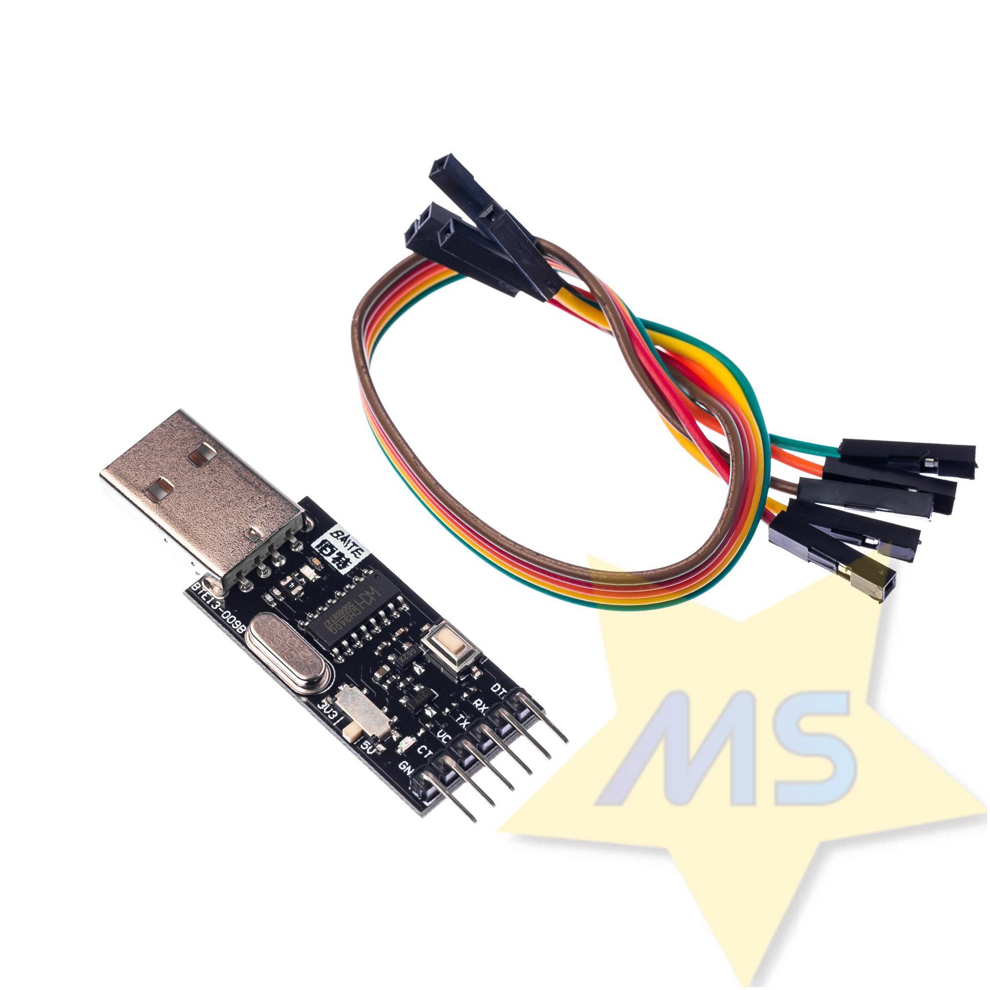 Conversor FTDI  CH340G USB serial
