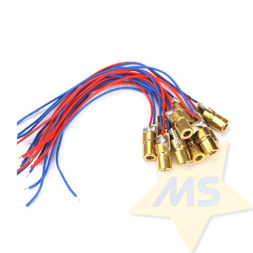 Diodo Laser 5mW vermelho