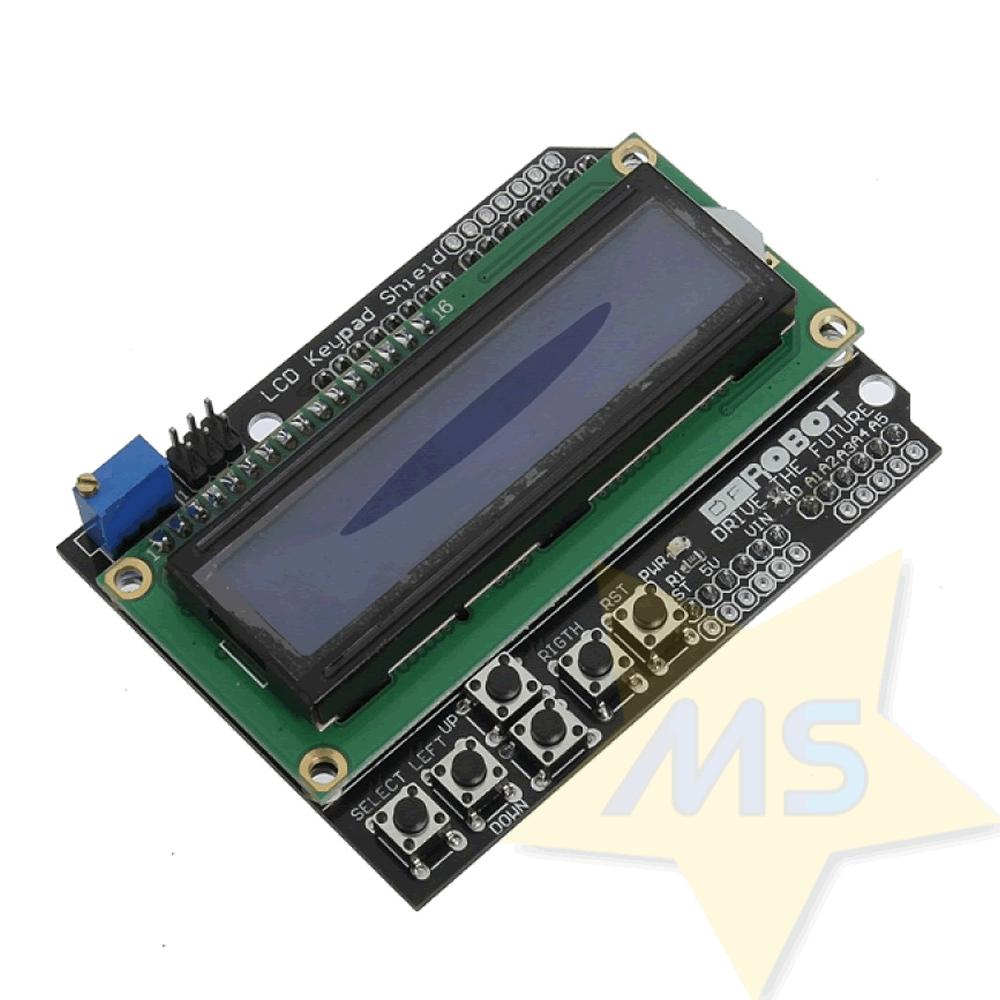 Display Lcd 16x2 com Teclado para Arduino