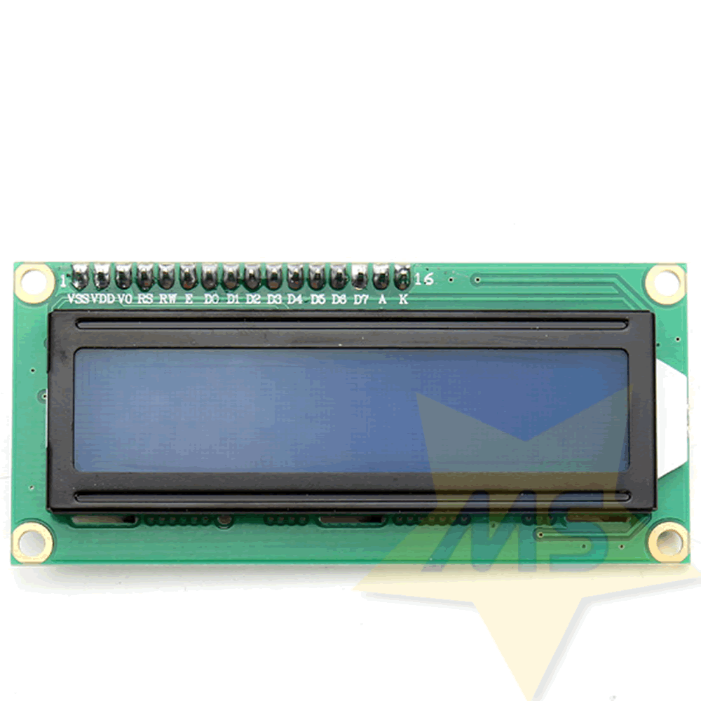 Display LCD azul 16x2 I2C