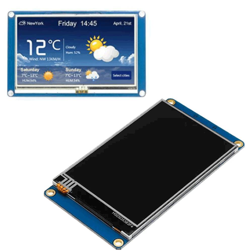 Display LCD Nextion Touch 2.4 320×240