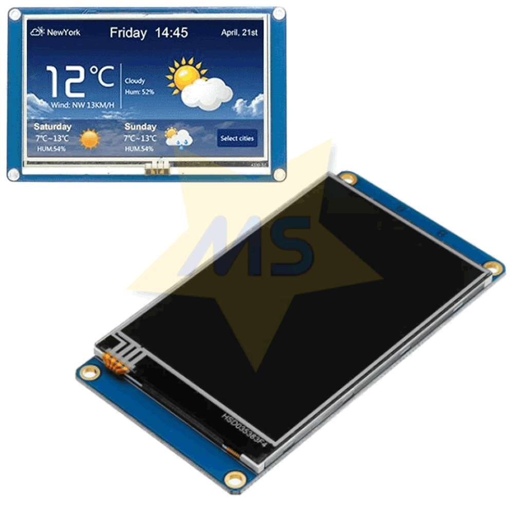 Display LCD Nextion Touch 3.5 480×320