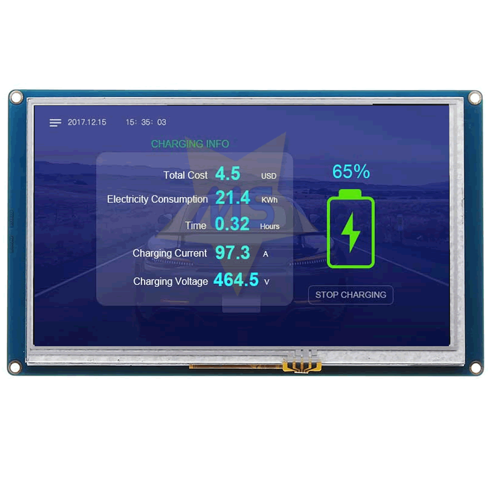 Display LCD Nextion Touch 7.0  800×840