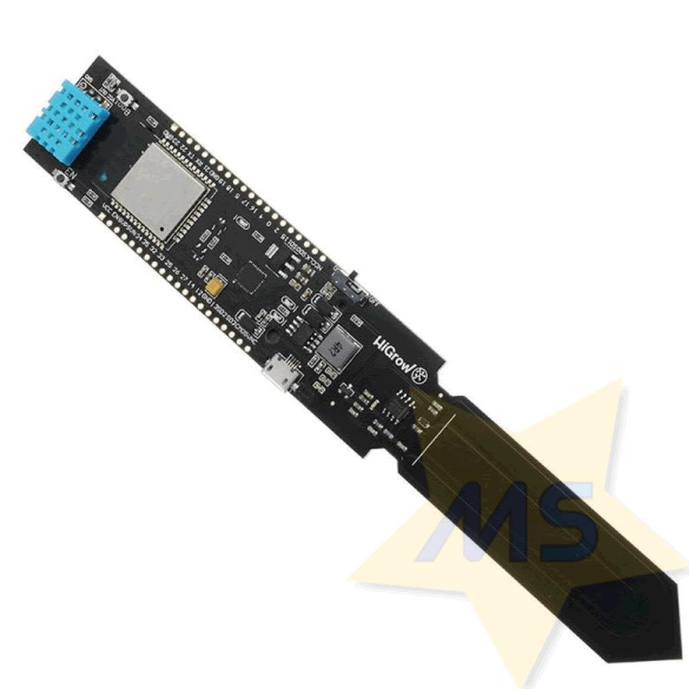 ESP32 WiFi sensor de Umidade do solo + DHT11 e Suporte bateria 18650