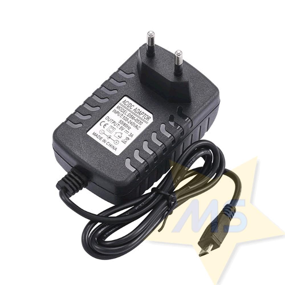 Fonte Chaveada 5V 3A Micro USB Raspberry
