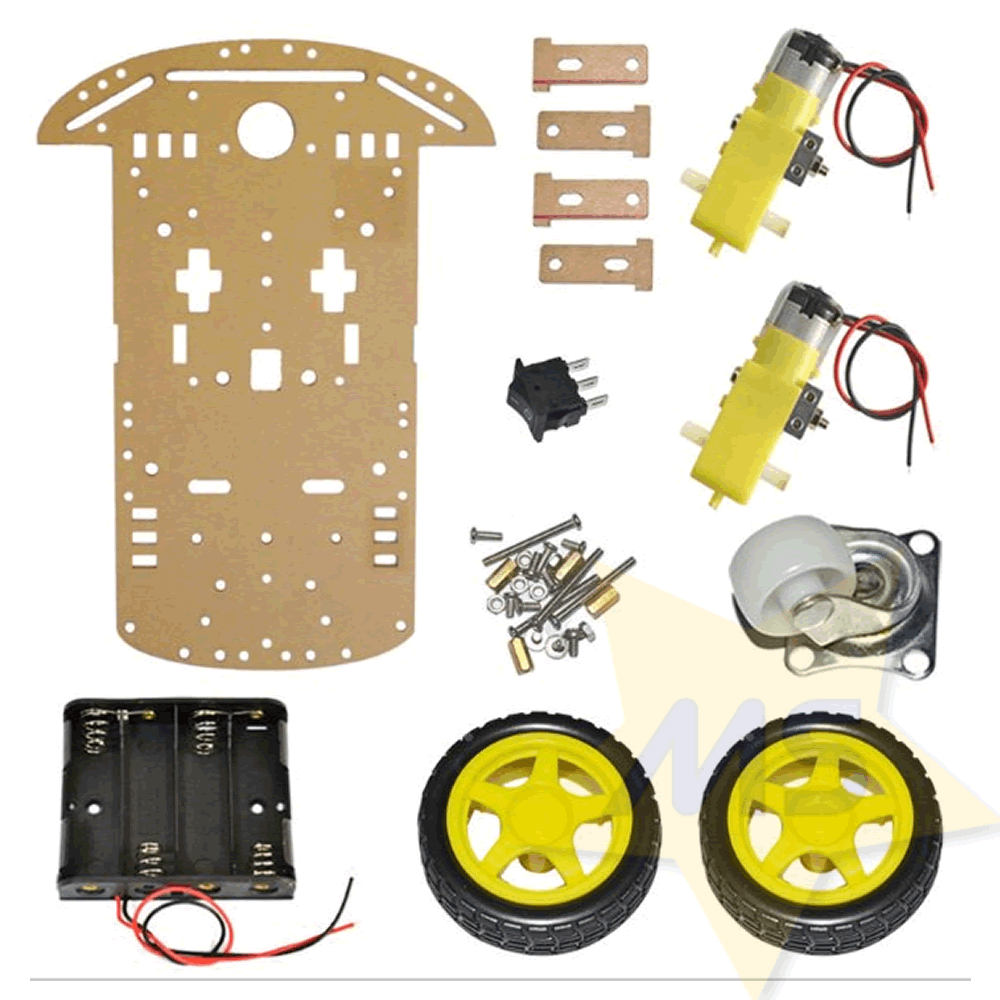 Kit Chassi 2WD Smart  Robô