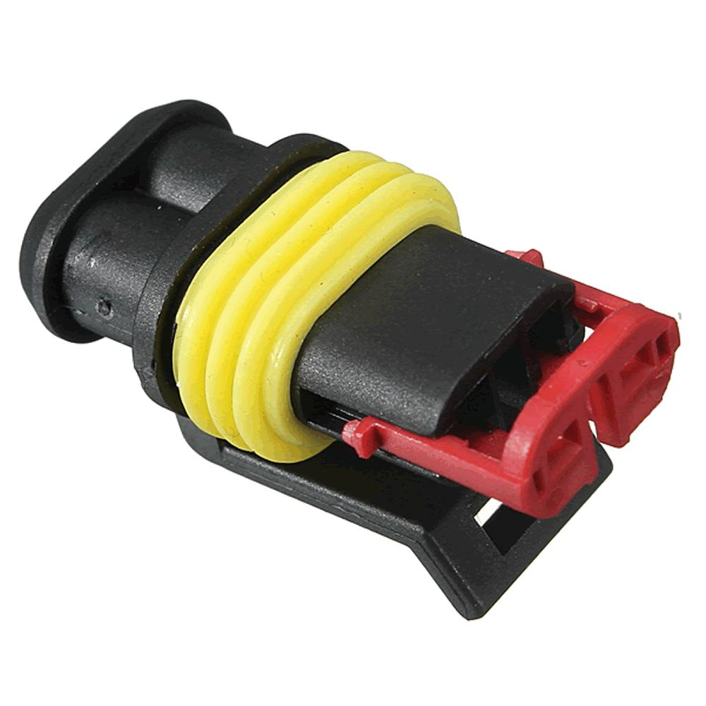 Kit Conector Automotivo 2 vias selado