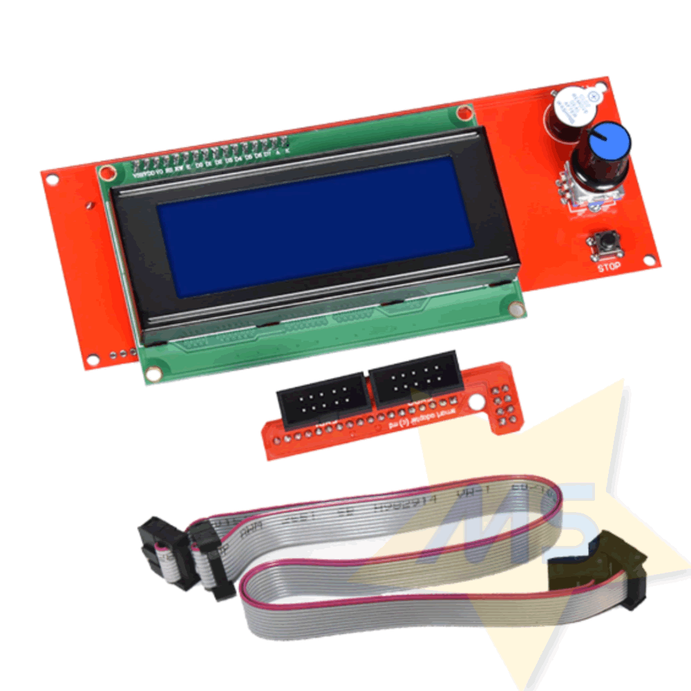 Kit Display 2004 LCD para Impressora 3d RAMPS 1.4