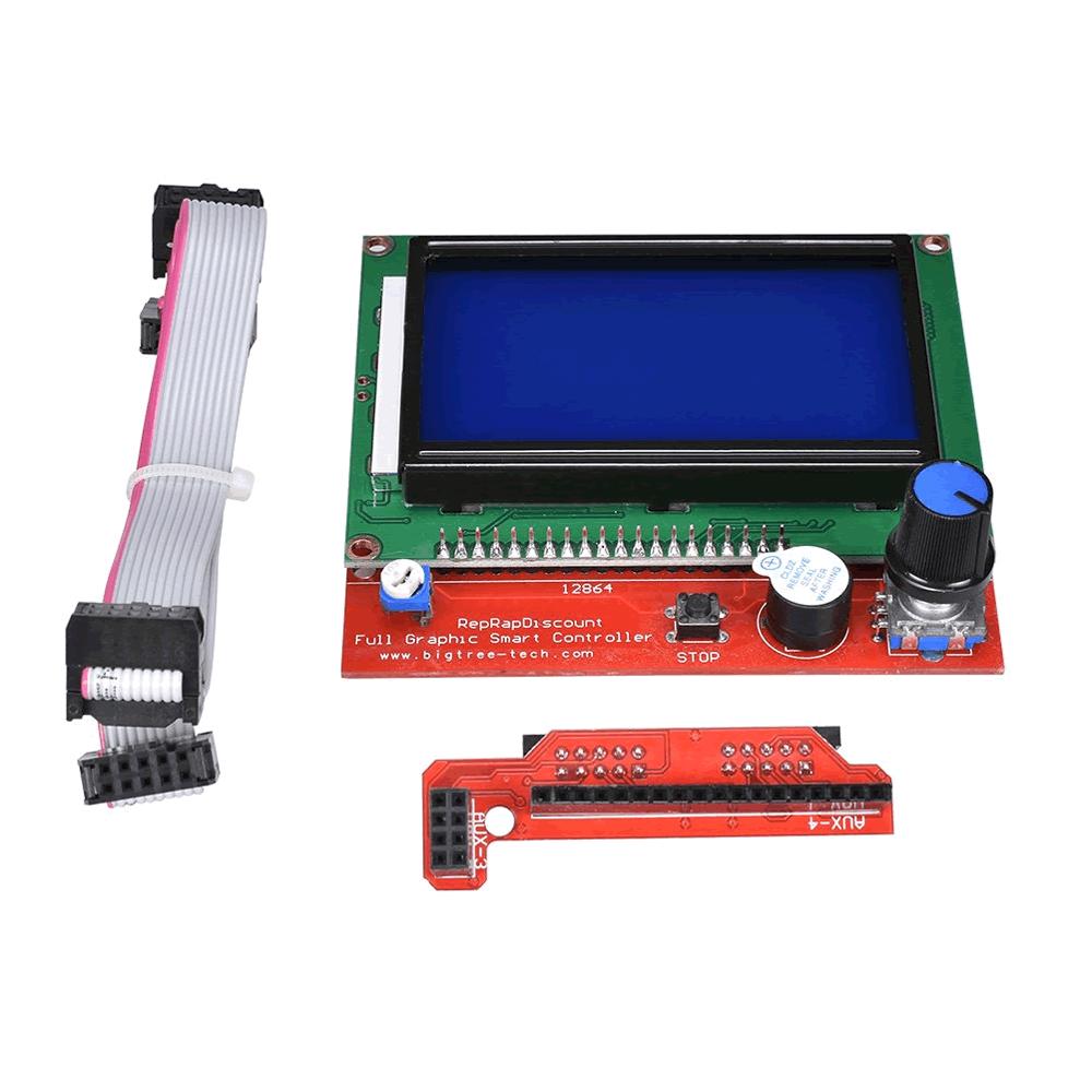 Kit Display Gráfico LCD 128×64 para Impressora 3d RAMPS 1.4