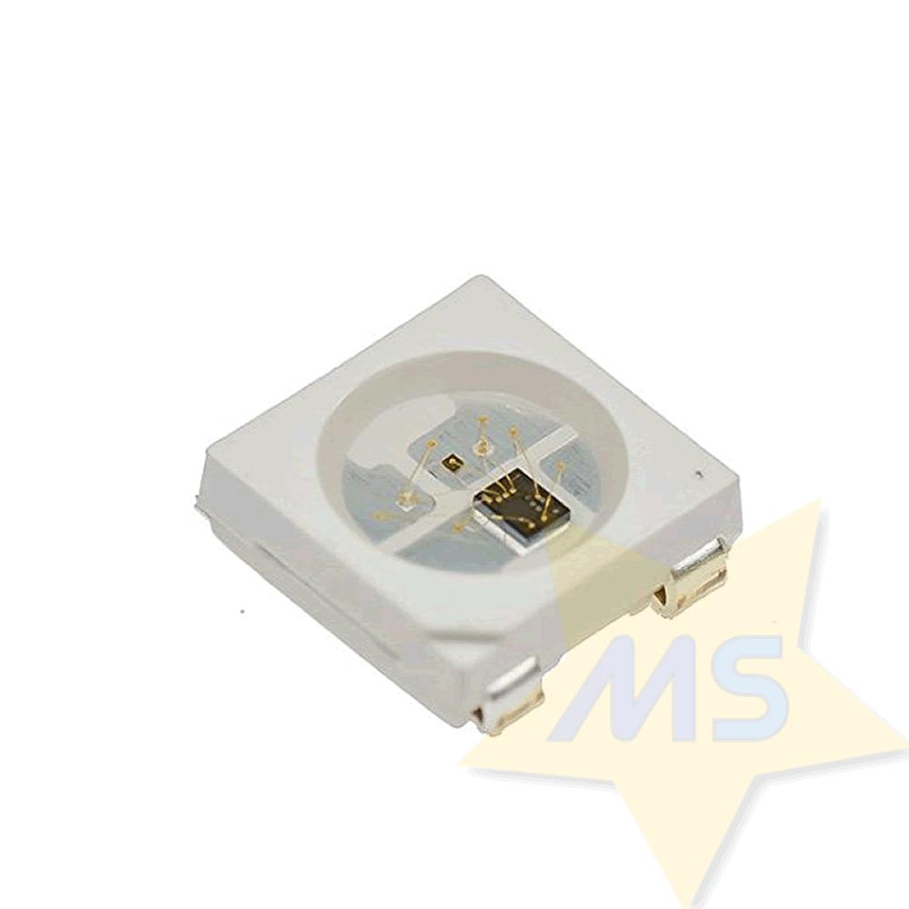 LED RGB 5050 WS2812B Endereçável SMD