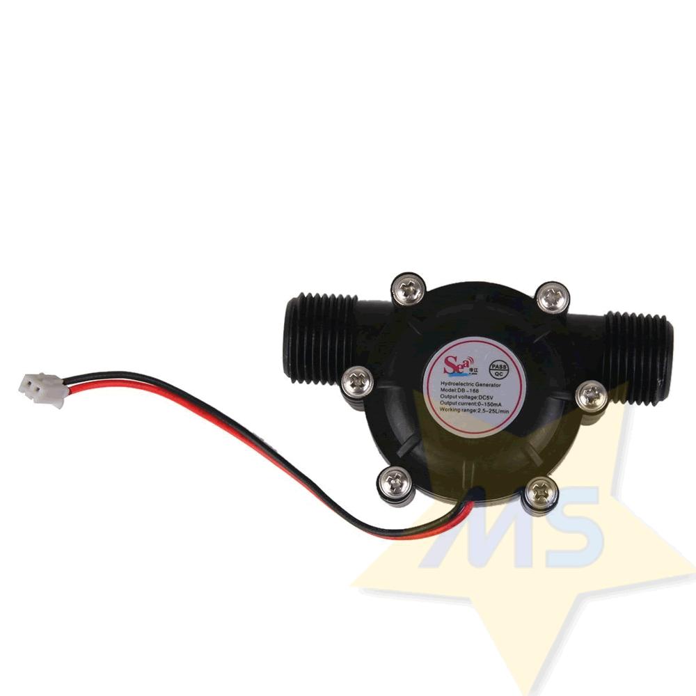 Micro hidrogerador 5V 10W