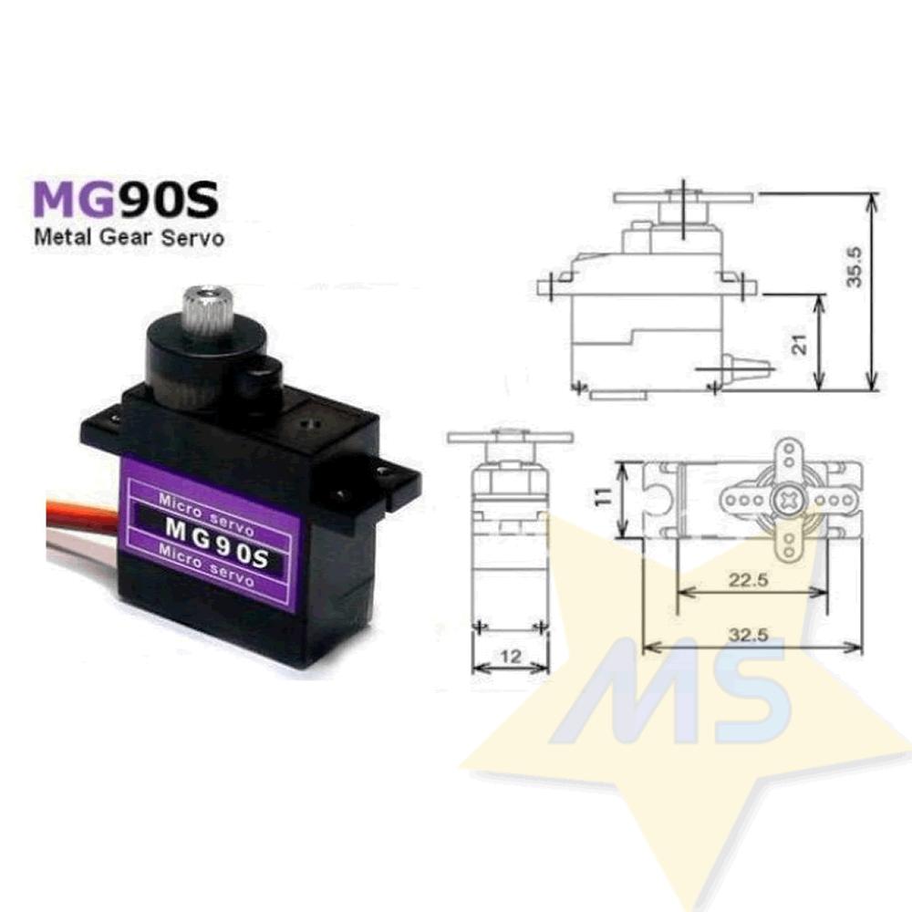 Micro Servo MG90S Tower Pro