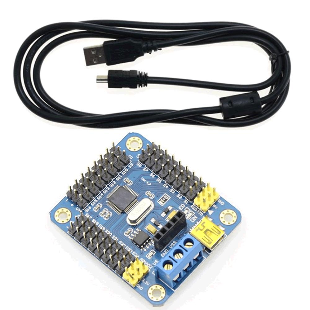Módulo controlador  USB 16 canais Servo motor