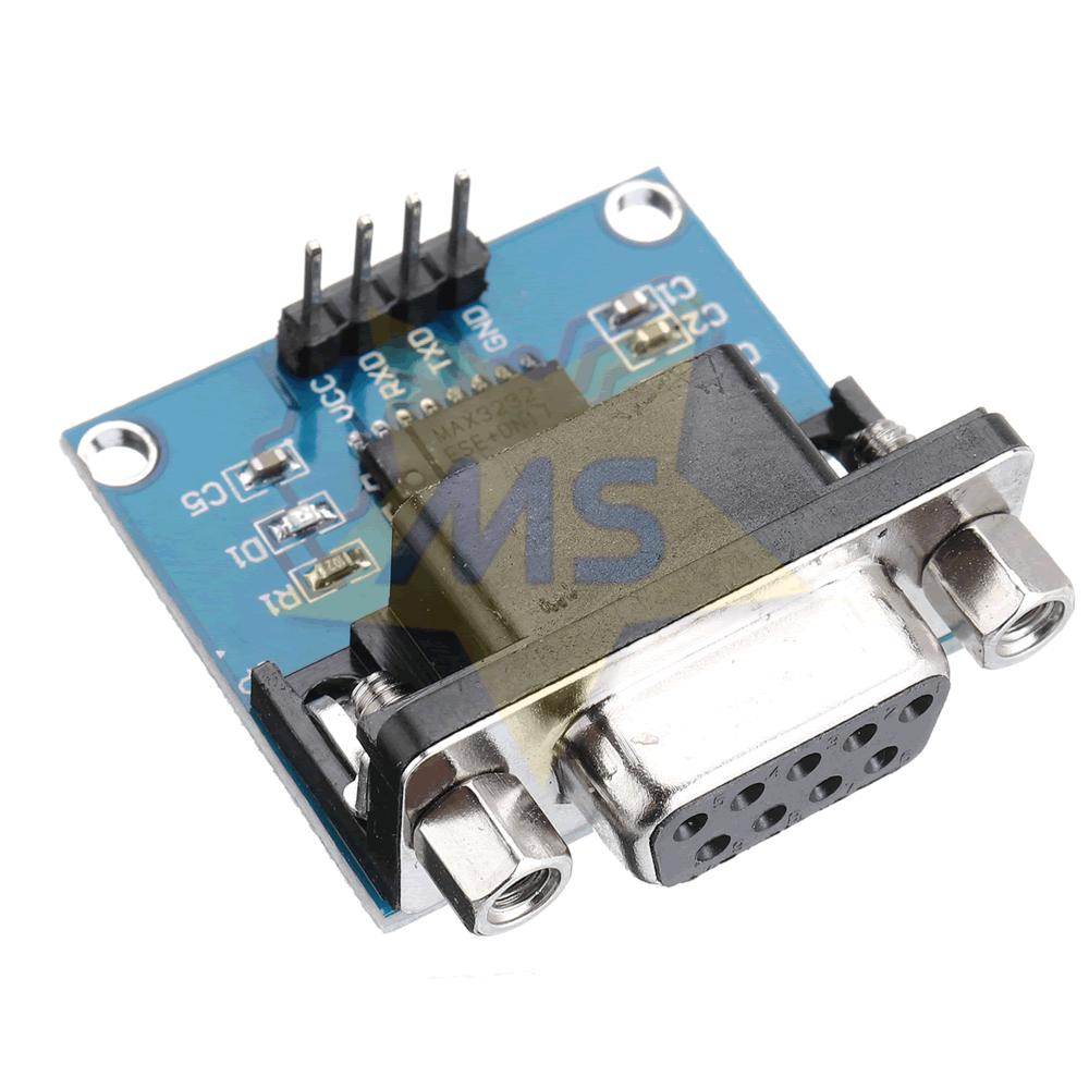 Módulo conversor serial RS232 para TTL - MAX3232