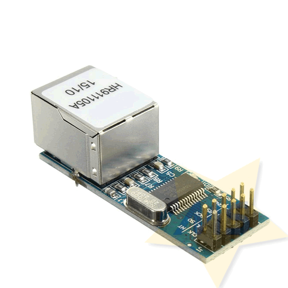 Módulo Ethernet ENC28J60 Mini