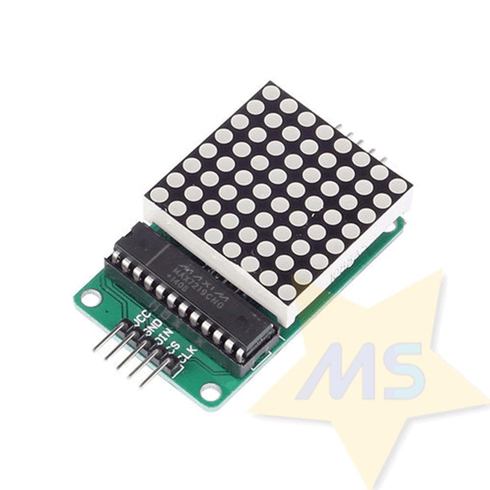Módulo LED Matriz de 8x8 com MAX7219