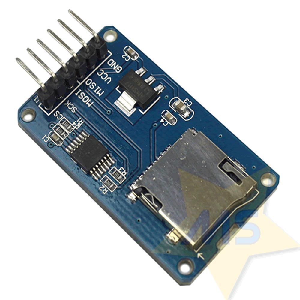 Módulo leitor de Cartão Micro SD