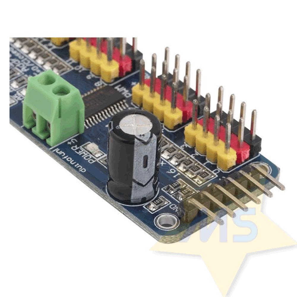 Módulo PCA9685 de 16 canais para Servo motor