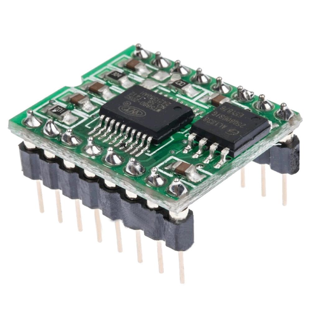 Módulo processador de som e voz WT588D-16P