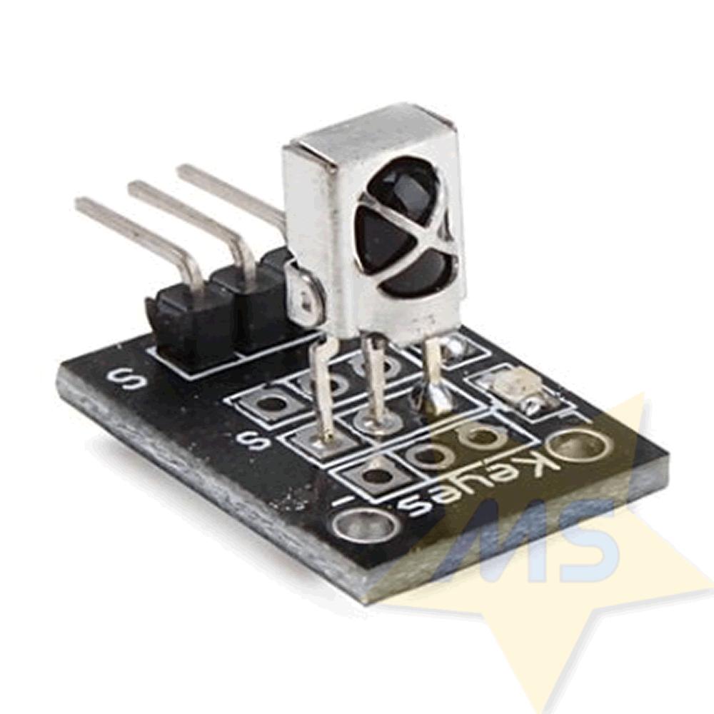 Módulo Receptor IR com Controle Remoto