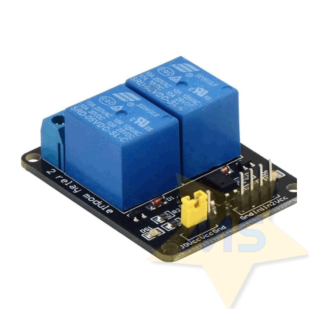Módulo Rele  2 canais 5 V