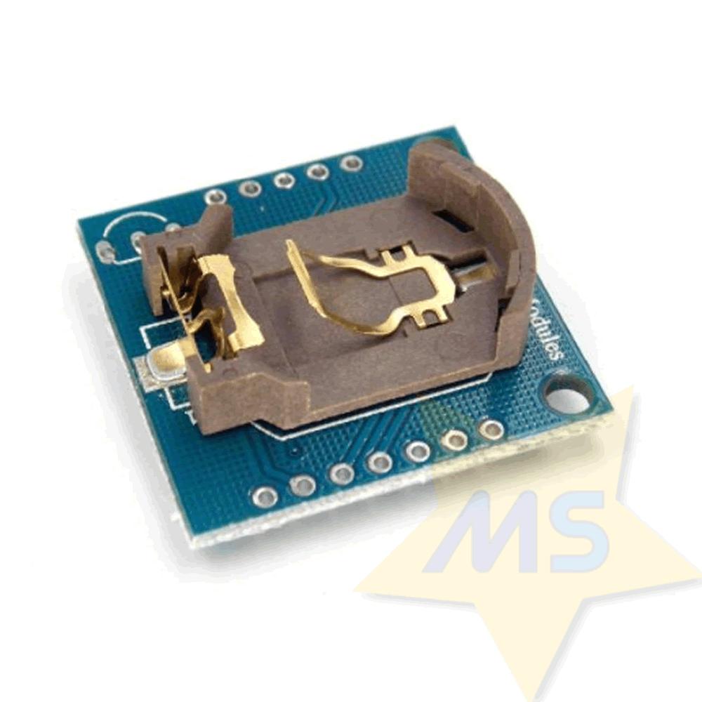 Módulo relógio  tempo Real I2C RTC DS1307 AT24C32