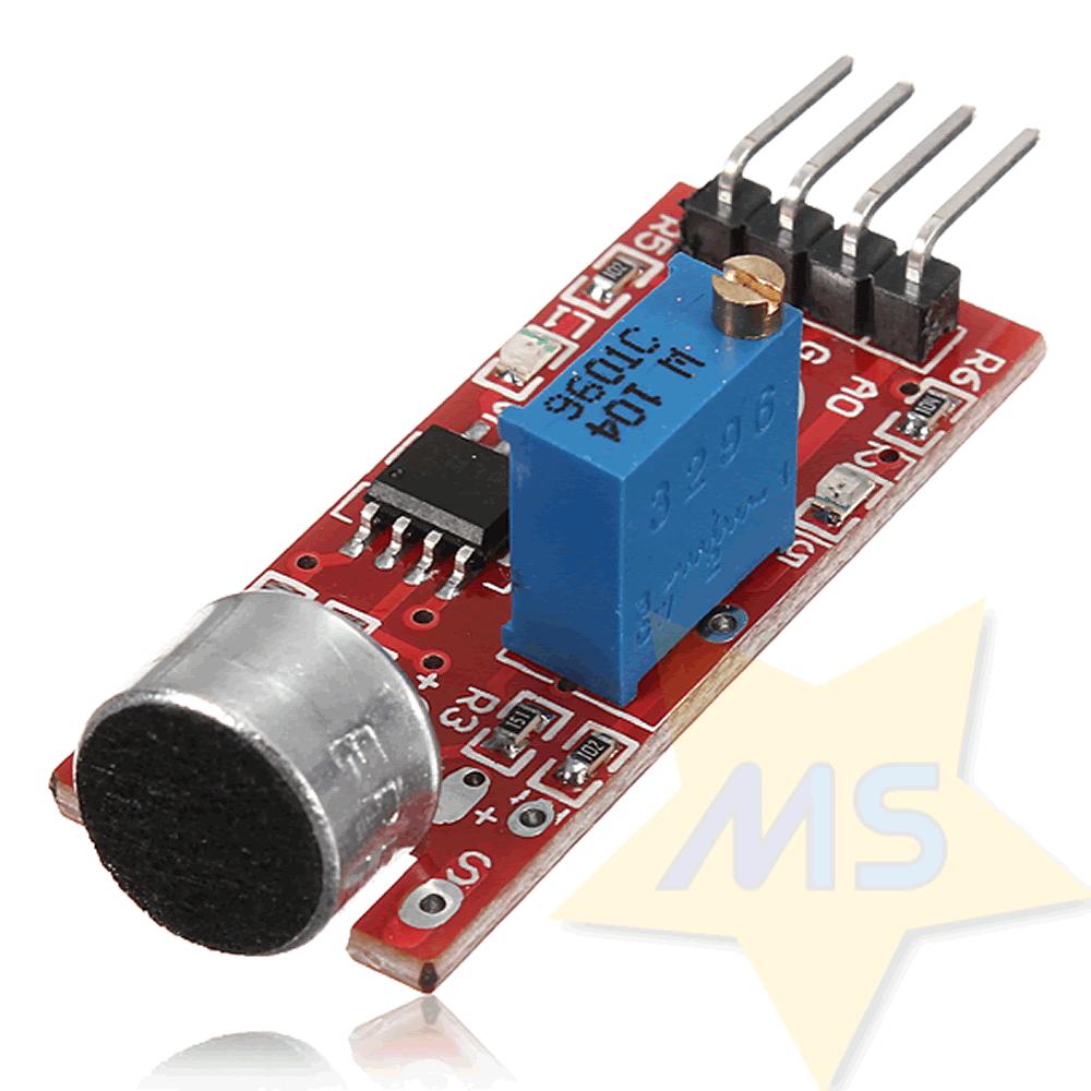 Módulo sensor de Som KY-038 com Microfone