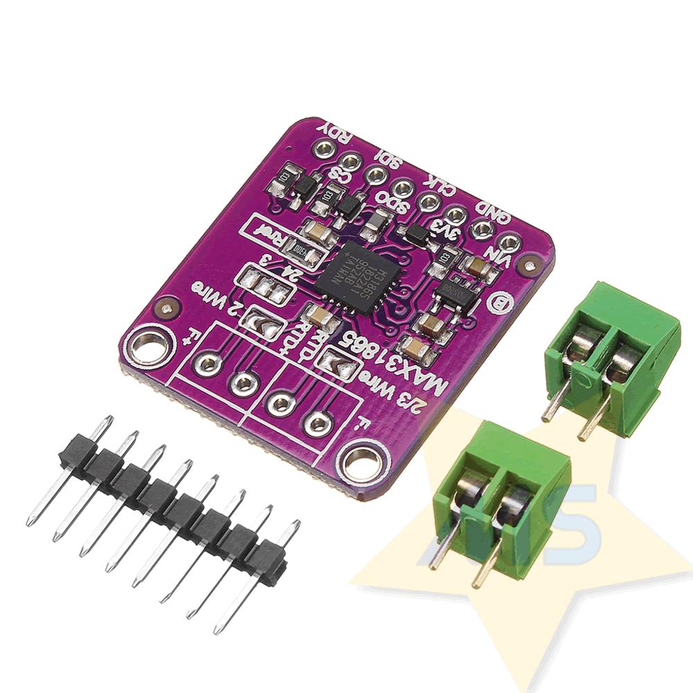 Módulo Sensor Temperatura RTD PT100 MAX31865