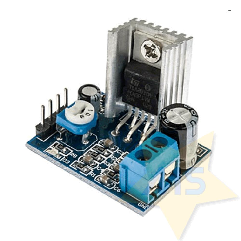 Módulo TDA2030 Amplificador de Audio 6-12V