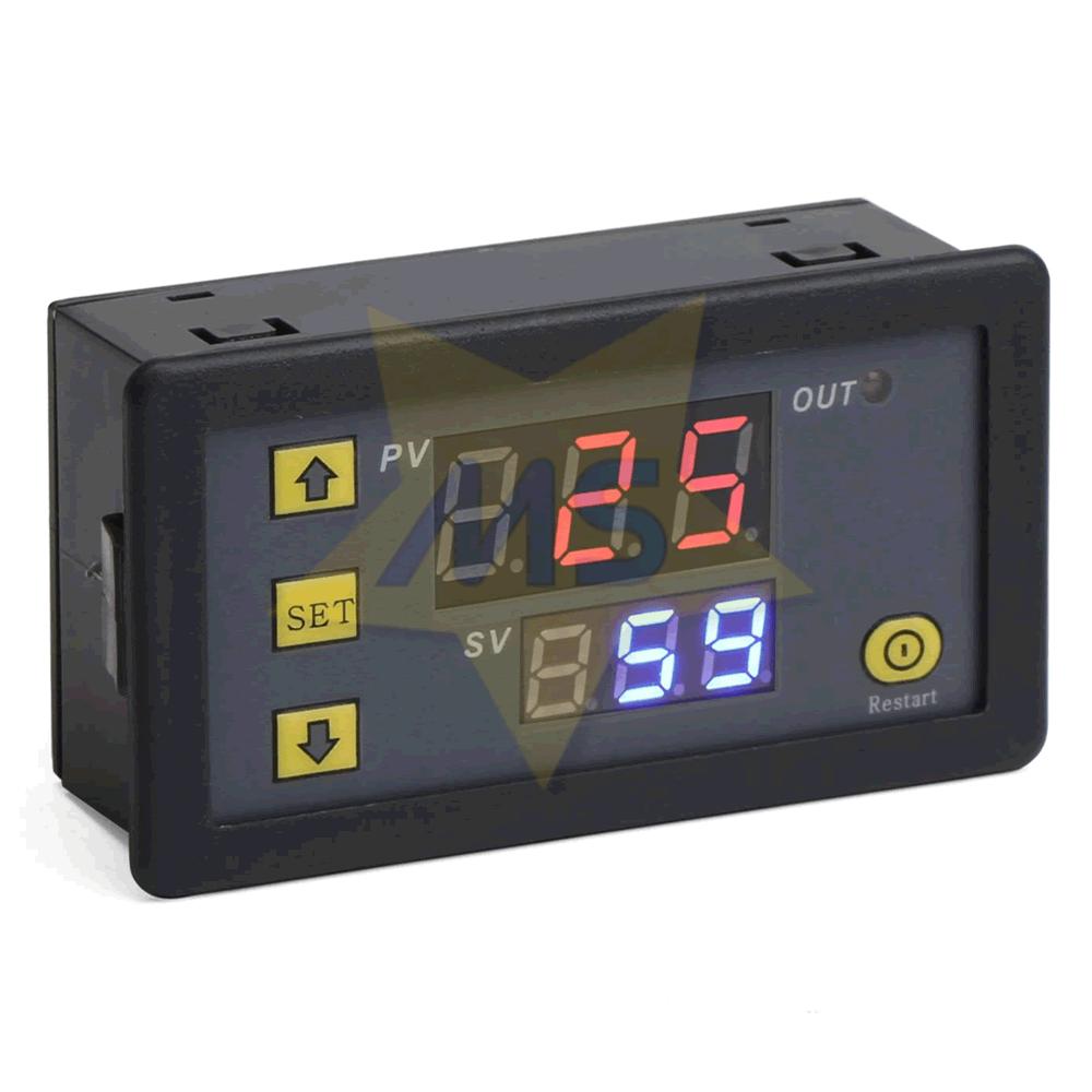 Módulo Temporizador Multifuncional 12V 10A