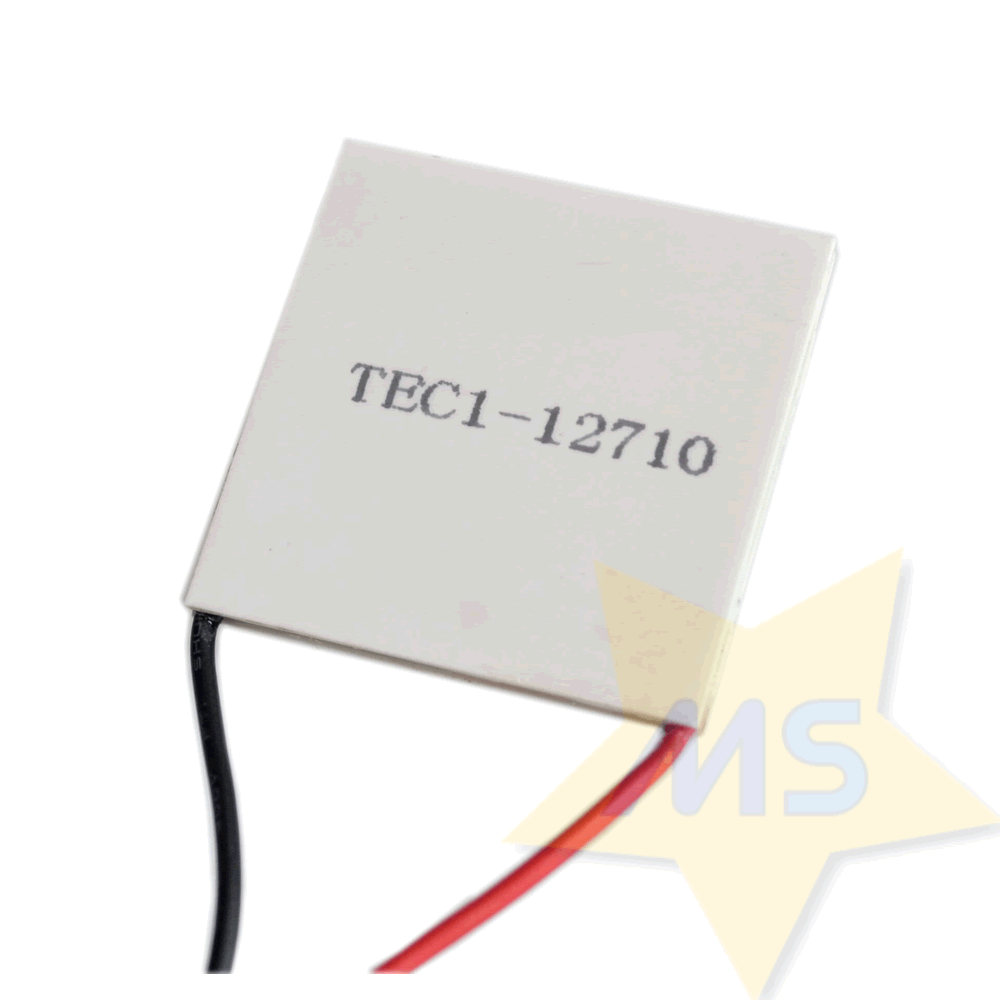 Pastilha Termoelétrica Peltier TEC1-12710