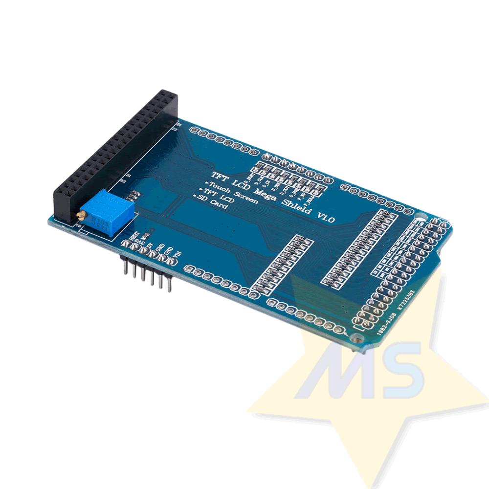 """Placa adaptadora de LCD TFT 3,2"""" para Arduino Mega2560 R3"""