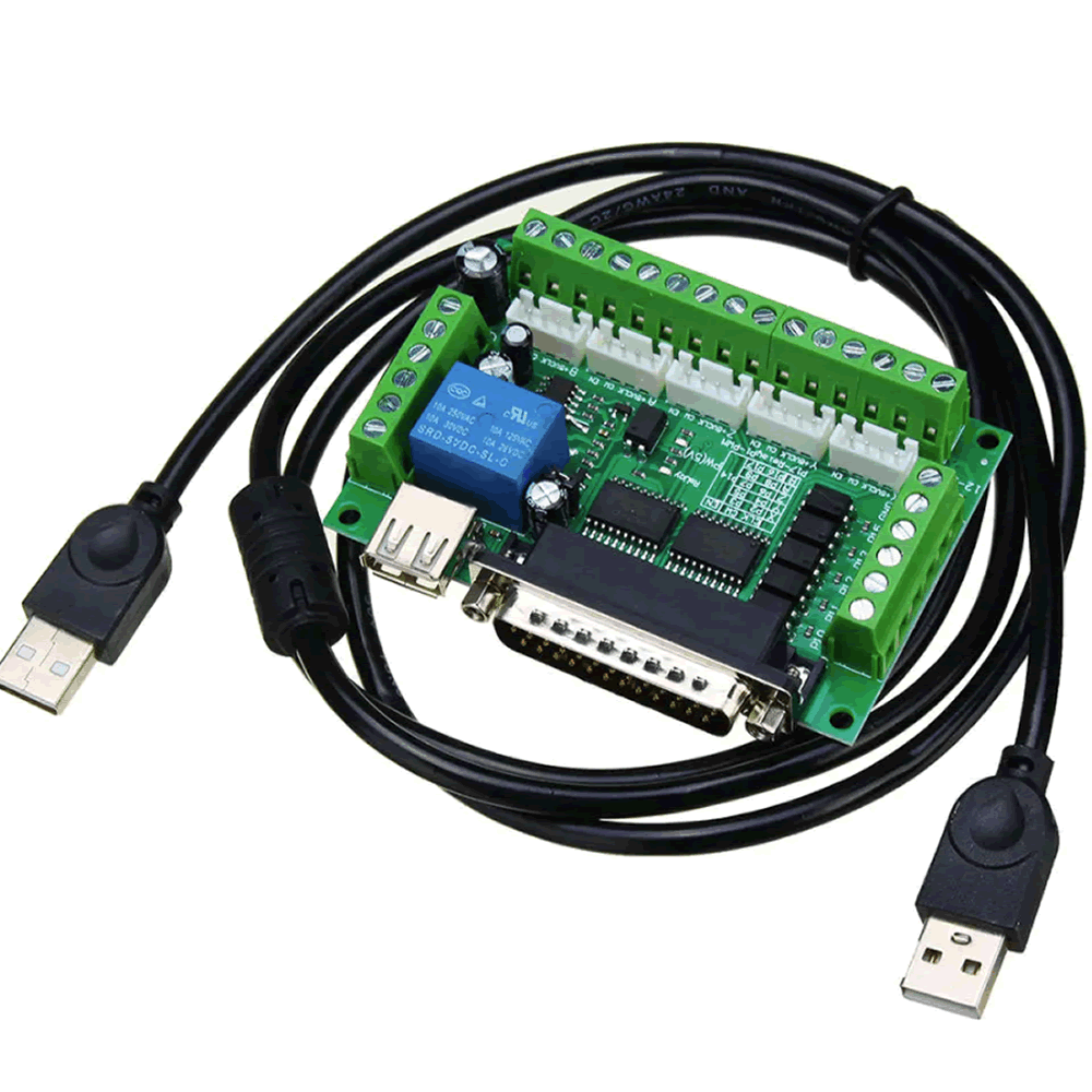 Placa Controladora CNC Interface Mach3 DB25