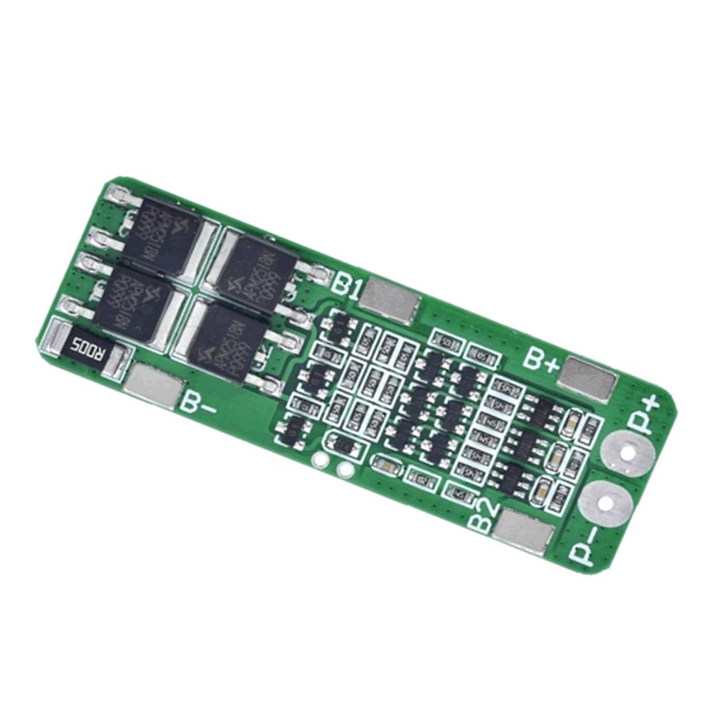 Placa de proteção de bateria 18650 BMS 3S 20A Li-ion 12,6V