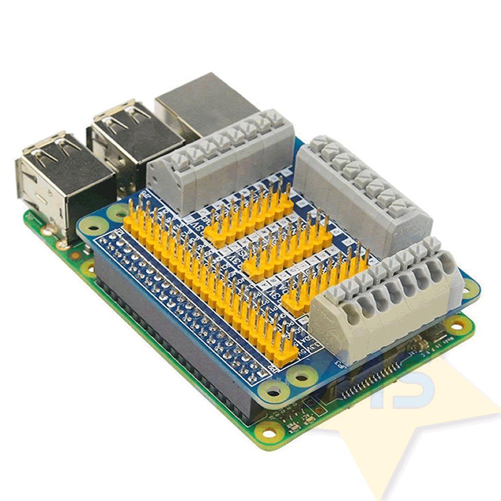 Placa Expansão Gpio Raspberry Pi 2/3 B B+