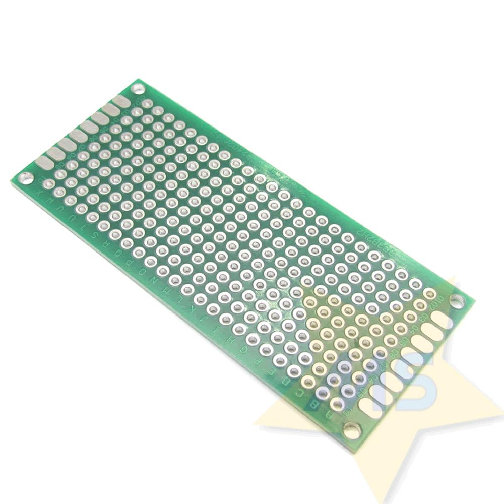 Placa universal dupla face fibra vidro 3 X 7 CM