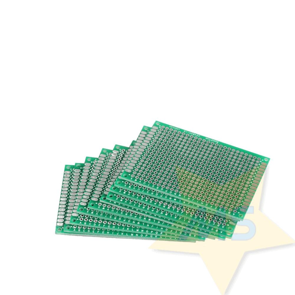 Placa universal  dupla face fibra vidro 5 x 7 cm